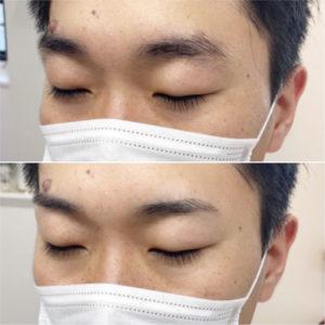 清潔感◎眉スタイリング