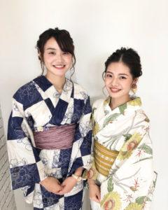 【Ohashi Fuka スタイル】浴衣の美♪