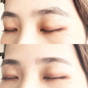 【Ohashi fukaスタイル】スッピン眉でも美しい眉へ*