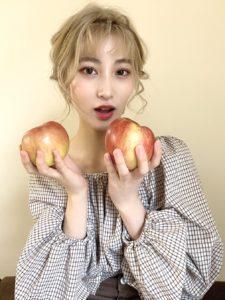 韓国女子風撮影
