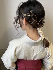 袴に合わせた人気のヘアアレンジ