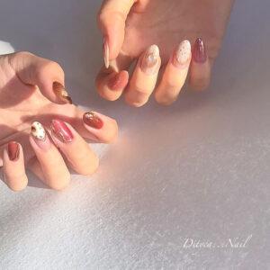 指先が綺麗に、、、